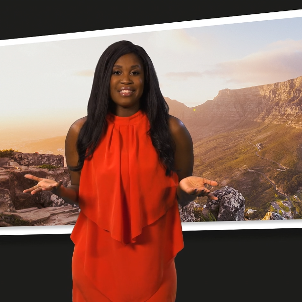 South African Tourism Greenscreen