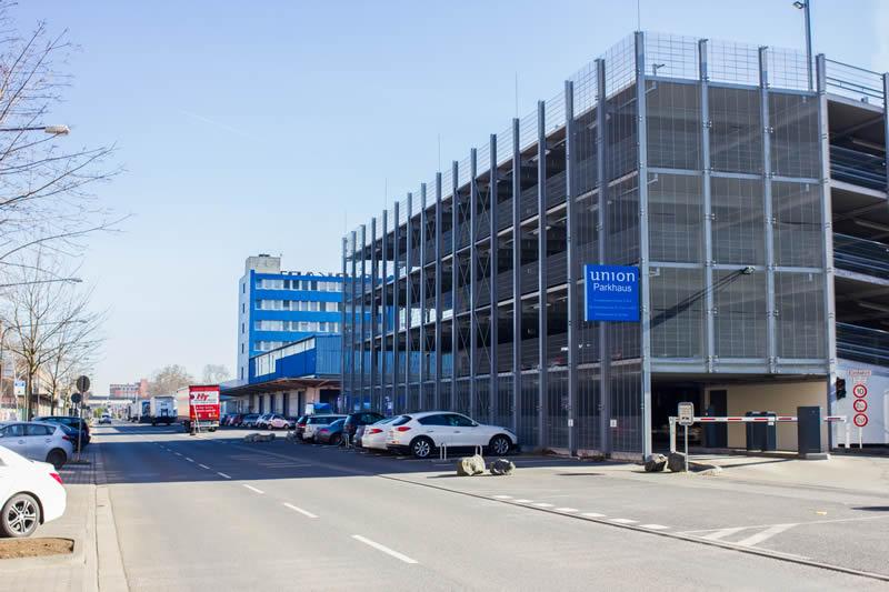 Parkhaus Unionsgelände Frankfurt am Main